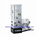 cardboard totem standing display for cosmetic prodcut 5