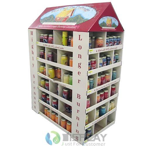 Supermarket Promotional Corrugated Cardboard Display or POP Up Display Stand/Pro 2