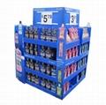 Supermarket Promotional Corrugated Cardboard Display or POP Up Display Stand/Pro 1