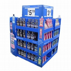 Supermarket Promotional Corrugated Cardboard Display or POP Up Display Stand/Pro