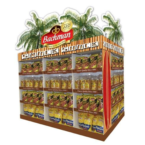 Supermarket Promotional Corrugated Cardboard Display or POP Up Display Stand/Pro 4