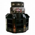 Supermarket Promotional Corrugated Cardboard Display or POP Up Display Stand/Pro 5