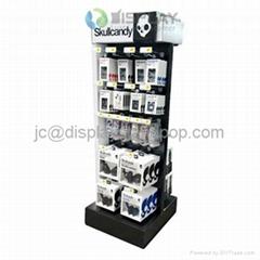 durable POP cardboard peg hook display pegboard