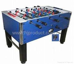 manual coin operation soccer table