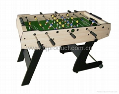 foldable soccer table stand up foosball table