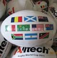 RUGBY橄榄球、PVC、PU高发泡英式橄榄球 2