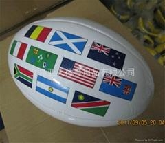 RUGBY橄榄球、PVC、PU高发泡英式橄榄球