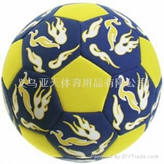 Neoprene潛水料足球  潛水料橄欖球