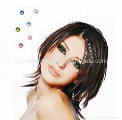 Fashion Hair Extension Bling / Crystal