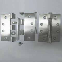 Steel door hinge with 2 ball bearings