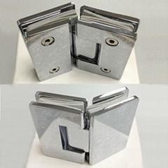 Corner brass hinge for Shower Enclosures Over 100,000 times operation