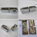 Zinc alloy door to door glass door indicator latch lock 1
