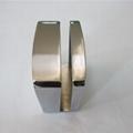 Zinc alloy door to door glass door indicator latch lock 2