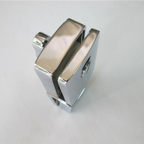 Zinc alloy door to door glass door indicator latch lock 3