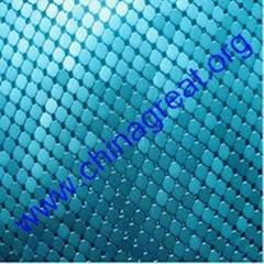 metallic cloth
