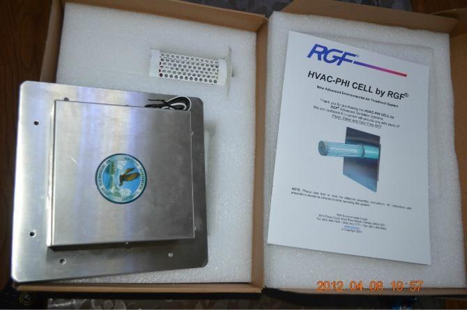 美國RGF光氫離子空氣淨化機 1