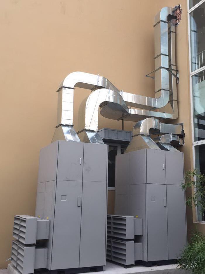 學校專用訂製四恆空氣淨化全新風系統 1