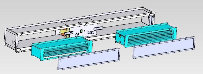 回風口式風盤電子空氣淨化器 1