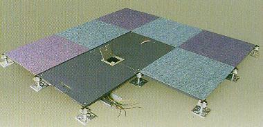 鋼質OA網絡地板 2