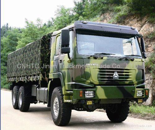 SINOTRUK HOWO All-Wheel Drive Cargo Truck(4x4 6x6 8x8) - China -