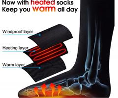 电加热袜子