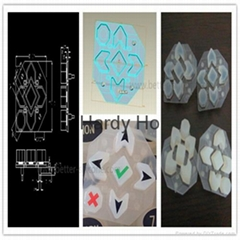 Silk Screen Elastic Rubber Silicone Keypad