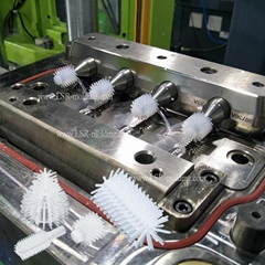 Liquid Silcone Rubber LSR Injection Mold Molding for Bottle Brush