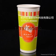 供应22OZ双PE奶茶杯