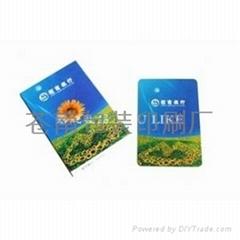 供应温州广告扑克印刷