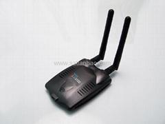 無線網卡支持WIN7 雙天線  300M