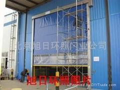 industrial accumulation door