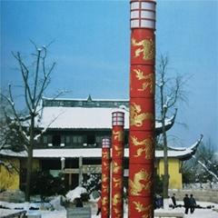 河南路燈廠按圖加工長度40米燈杆