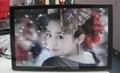 "32""wall mount Ad display DPF MP3 Video"