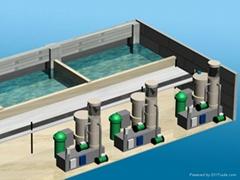工廠化水產養殖循環水處理成套系統