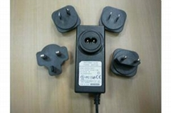 12V1A/2A/3A power adapte