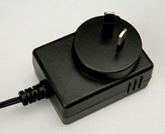 澳规12V1A电源适配器有SAA认证