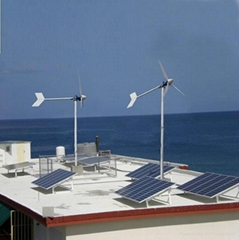 wind solar hybrid system for home