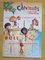 CALVITALIS 3D EMBOSSED WALL PVC CHART/POSTER