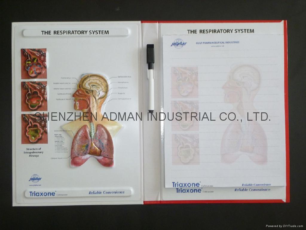 3D EMBOSSED MEDICAL NOTEBOOK 2