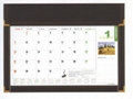 desk writing mat calendar/blotter/table planner 1