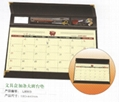 desk writing mat calendar/blotter/table