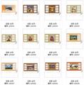 QM-085-091 立體PVC台曆