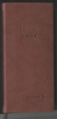 POCKET WEEKLY DAIRY BOOK AD7086