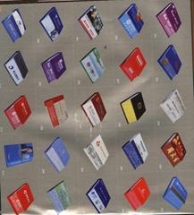 slant-cut memo pad/note book