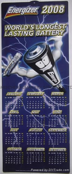 ENERGIZER BATTERY--3D EMBOSSED WALL PVC CHART/POSTER 2