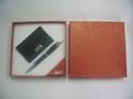 pen & keychain/pen & name card gift set 2