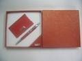 pen & keychain/pen & name card gift set