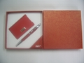 pen & keychain/pen & name card gift set 4
