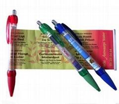 廣告拉杆伸縮筆