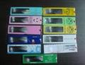 wafer-thin bookmark/name card/ruler